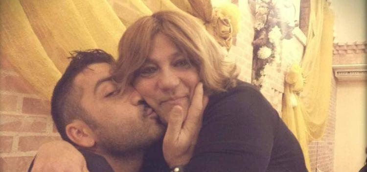 Amedeo Grieco e sua mamma