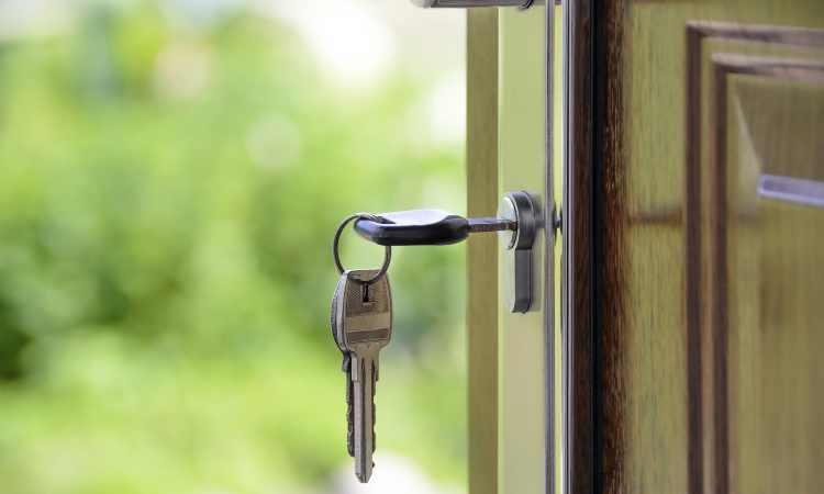 chiavi di un'abitazione