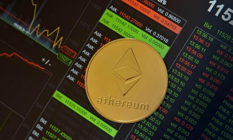 dati sulla moneta virtuale Ethereum