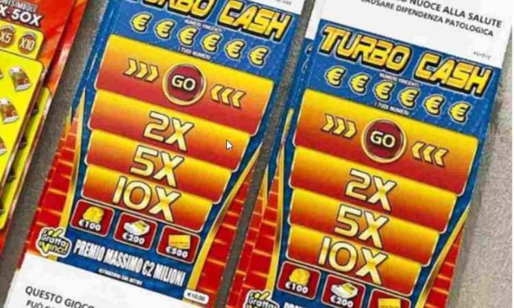 gratta e vinci Turbo cash