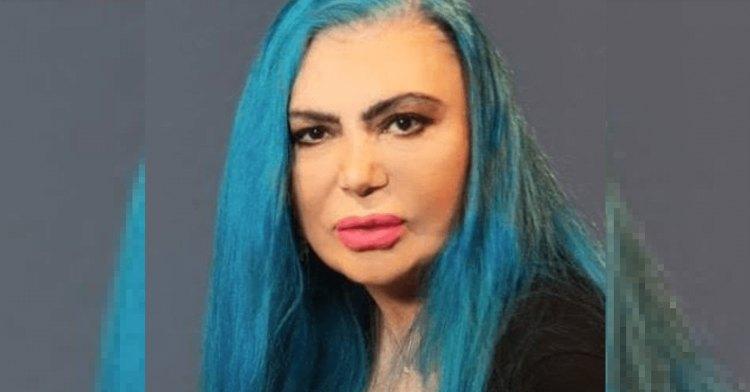 Loredana capelli blu