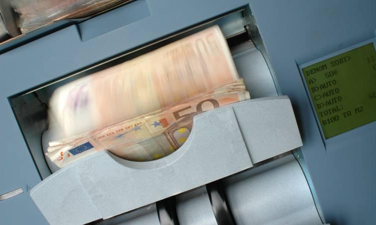 macchinetta conteggio banconote