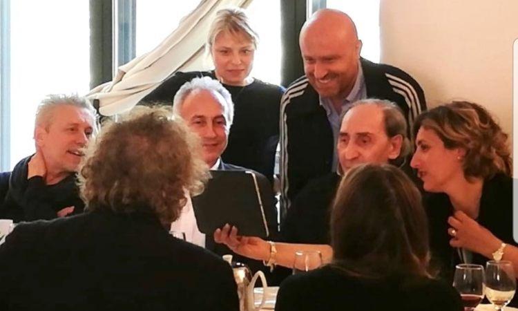 Rudy Zerbi e famiglia Battiato