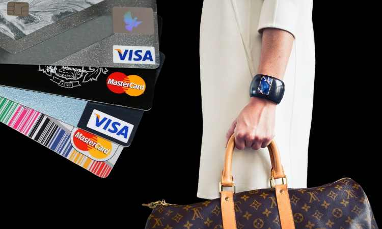 shopping con carte di credito