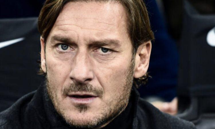 Francesco Totti maglia nera