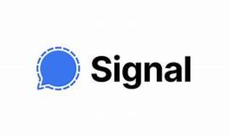 Il simbolo dell'app di messaggistica criptata Signal
