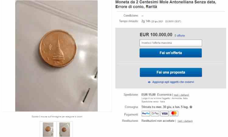 Moneta da due centesimi