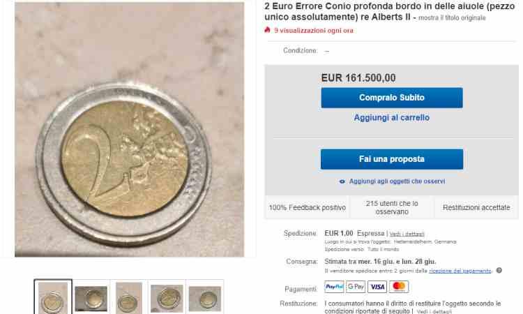Moneta due euro
