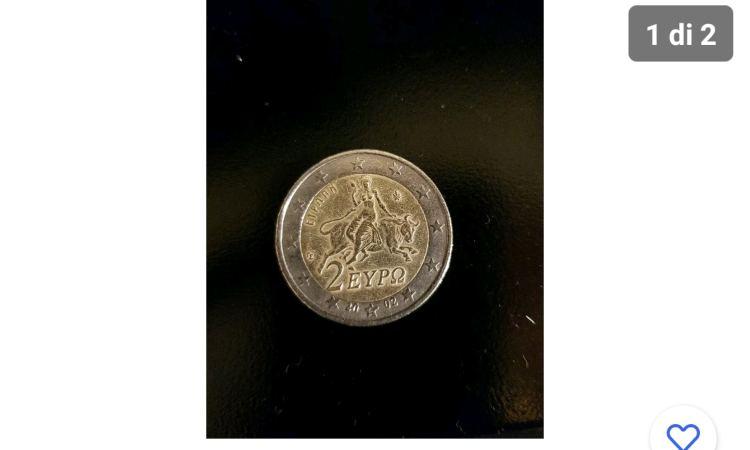 La moneta da 2 euro sovrastimata