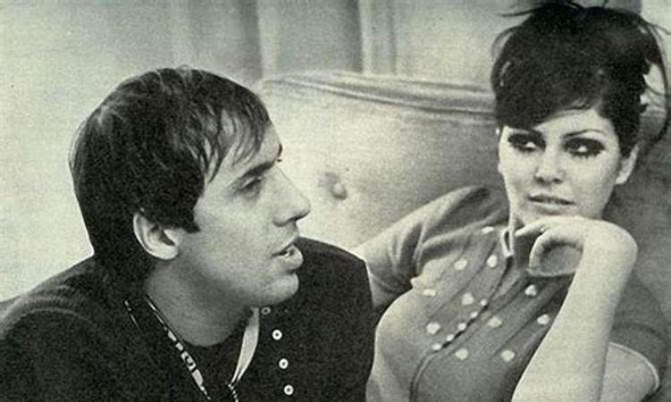 Adriano e Claudia mori da giovani