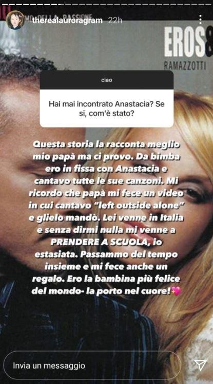 Stories di Aurora Ramazzotti