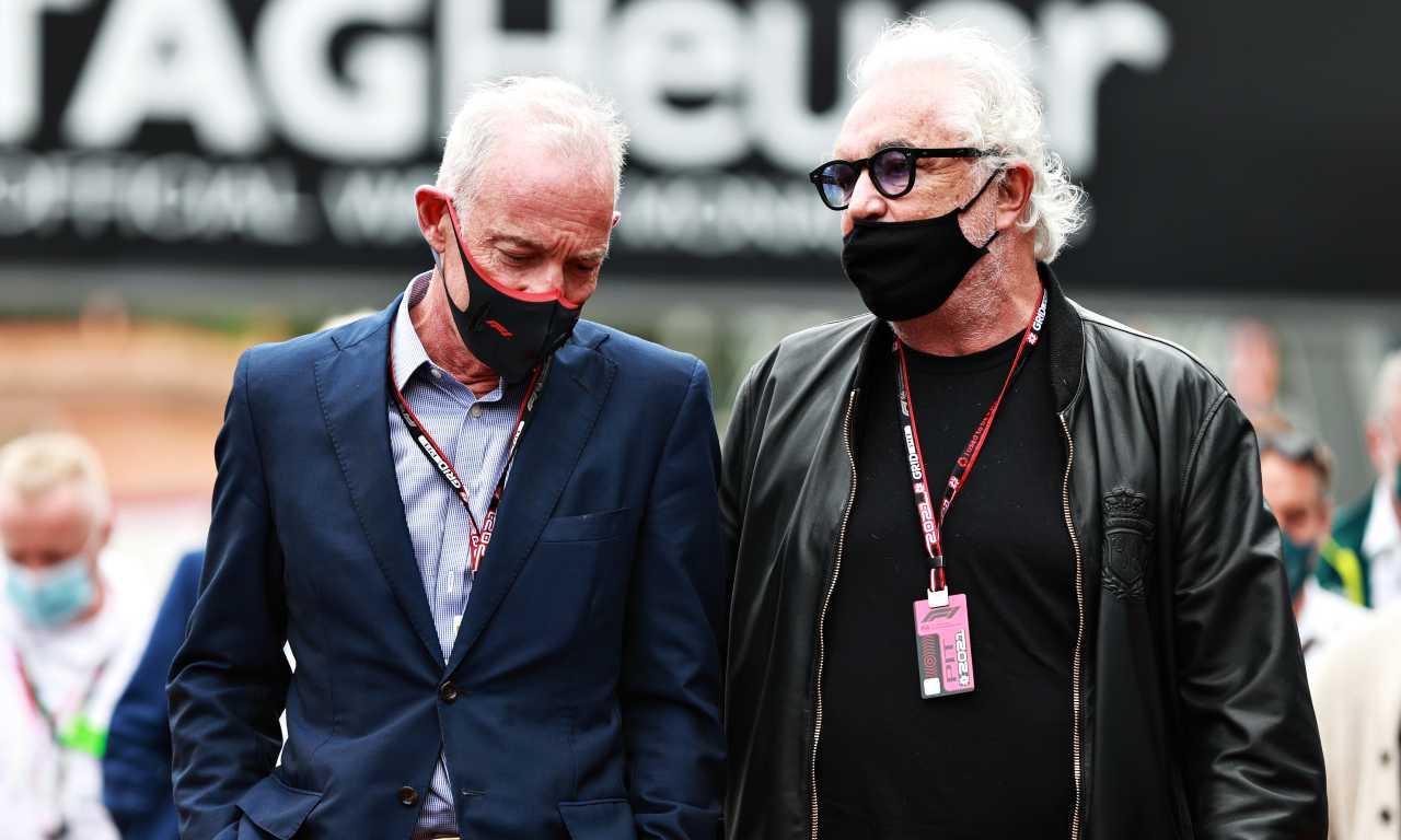 Flavio Briatore e Greg Maffei