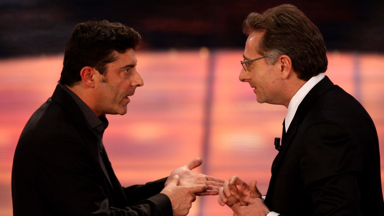 Luca Laurenti e Paolo Bonolis