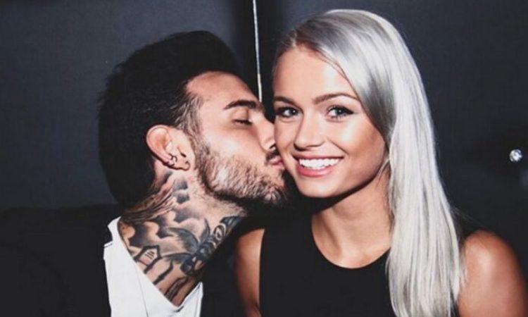 Mercedes e Lucas bacio
