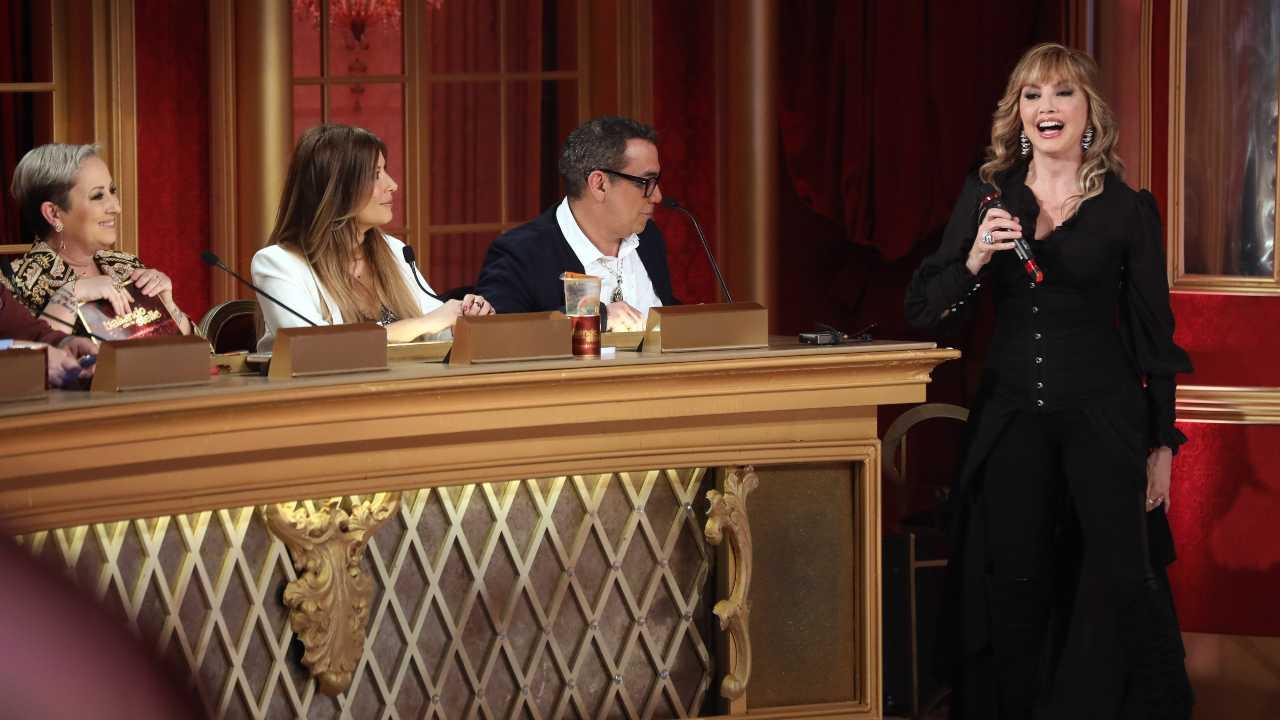 Milly Carlucci e la giuria