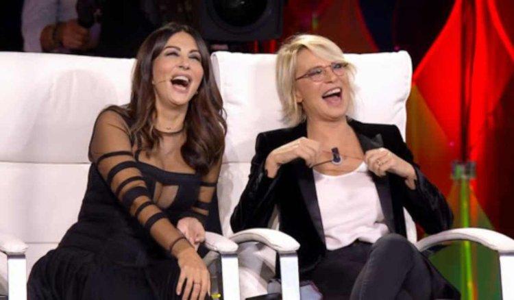 Sabri e Maria ridono