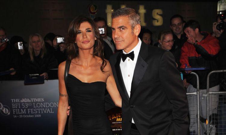 La vecchia coppia Clooney-Canalis in posa per i fotografi