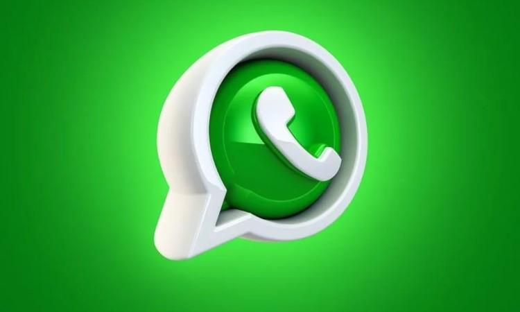 Il simbolo tridimensionale di Whatsapp