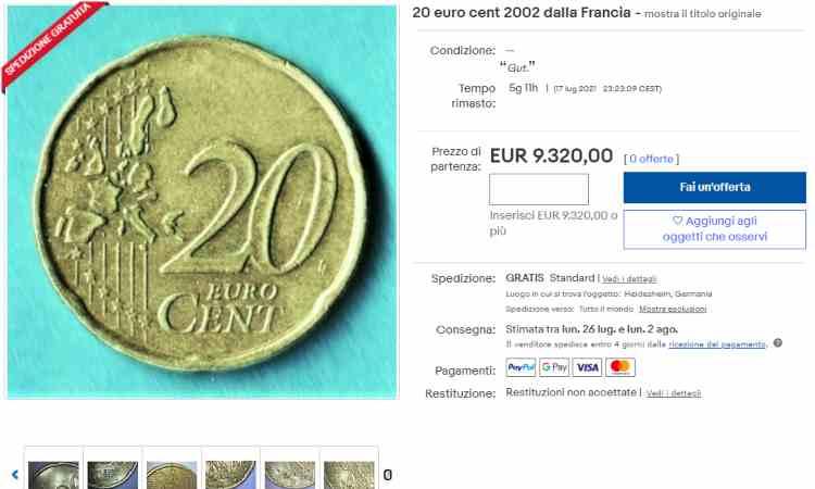 Moneta venti centesimi