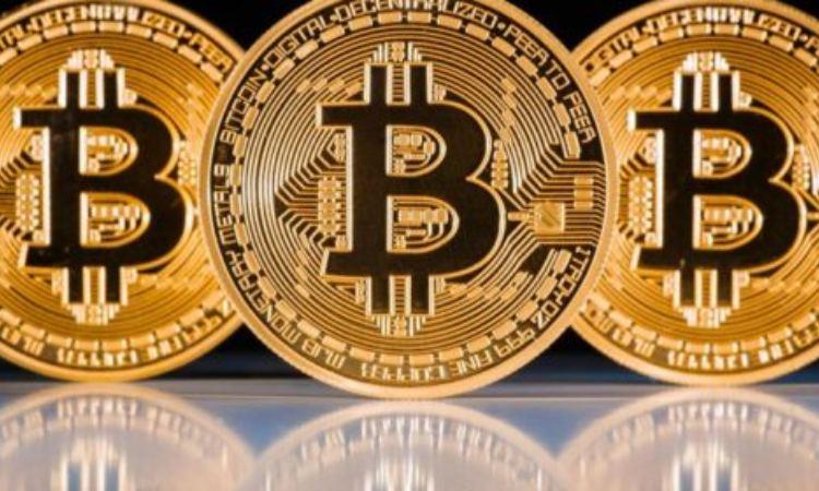 Alcune Bitcoin dorate