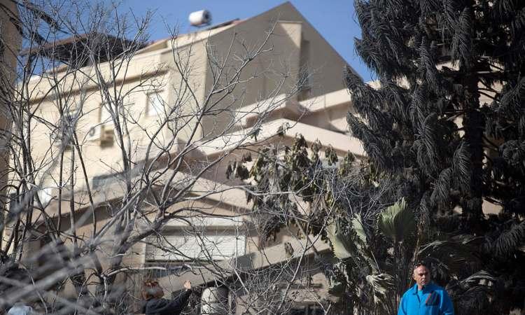 Un albero fatto crescere di fronte una casa