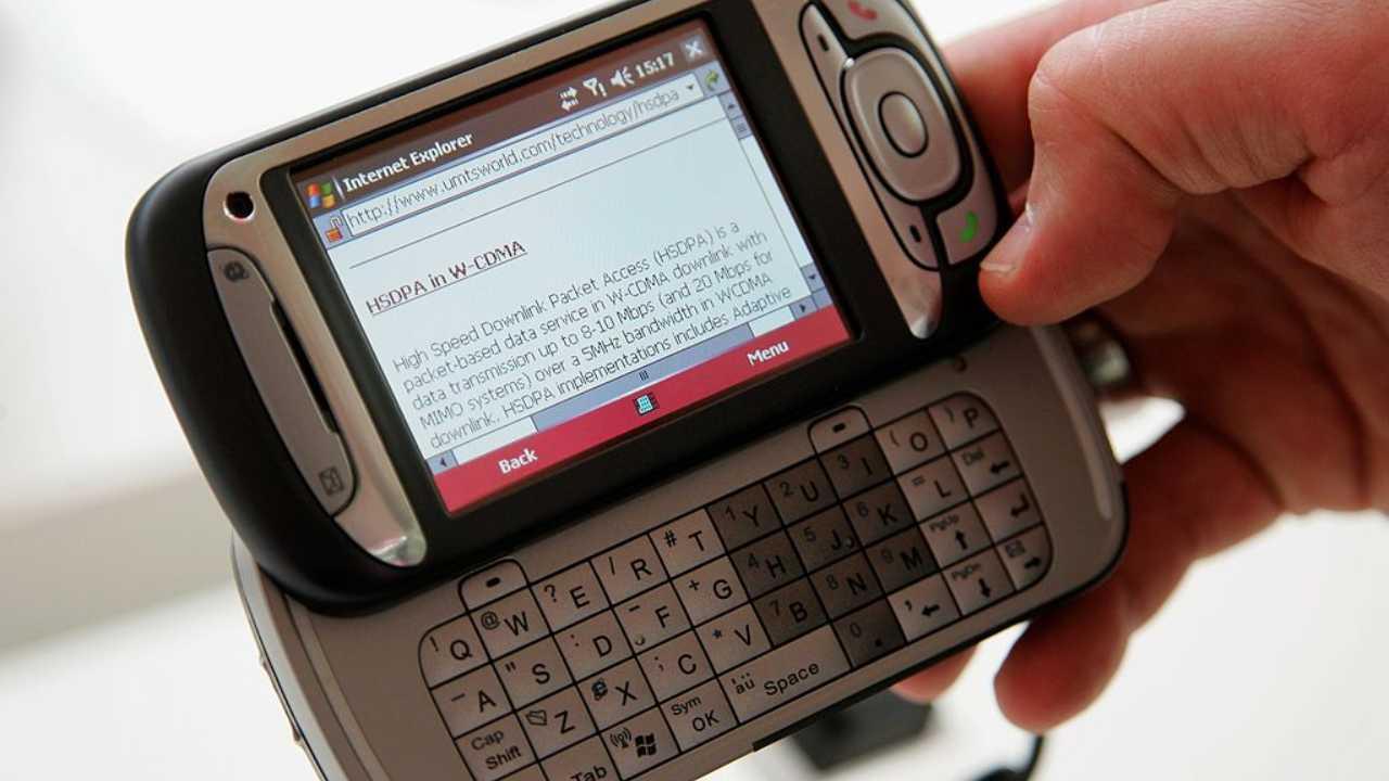 Un sms arrivato su un cellulare
