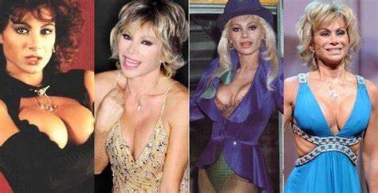Carmen Russo prima e dopo
