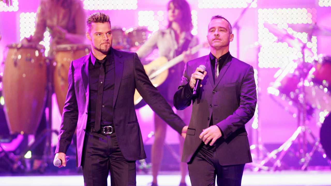 Eros Ramazzotti e Ricky Martin