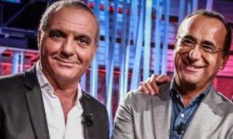 Giorgio e Carlo sorridono
