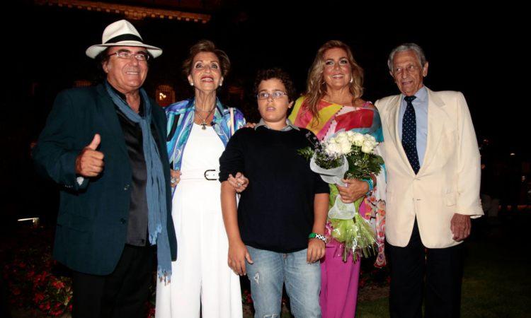Albano jr. Insieme al padre e Romina