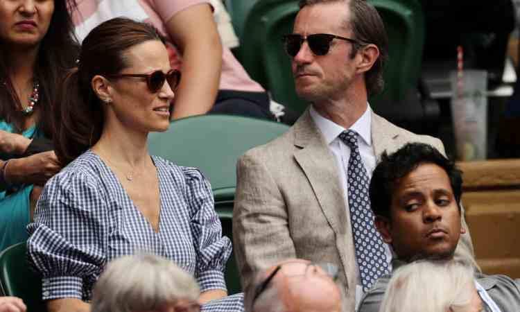 Pippa Middleton e suo marito