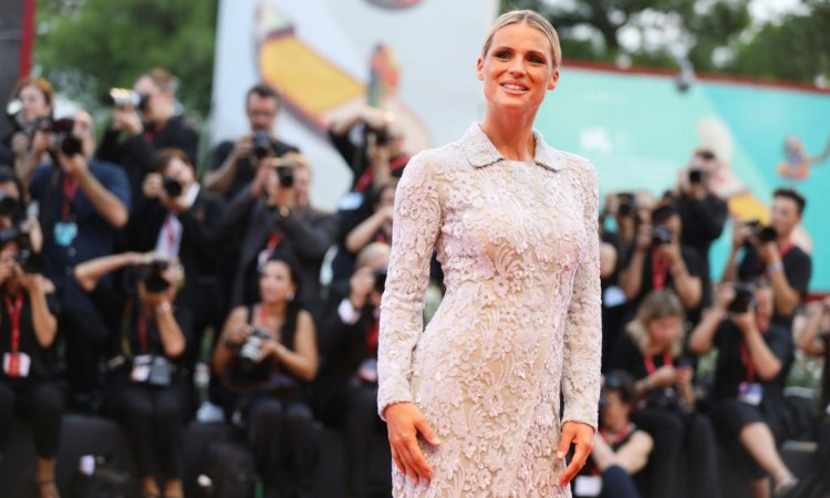 Michelle Hunziker ospite al 'Festival del cinema di Venezia'