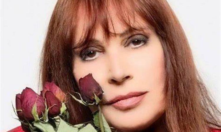 Viola fiori rossi