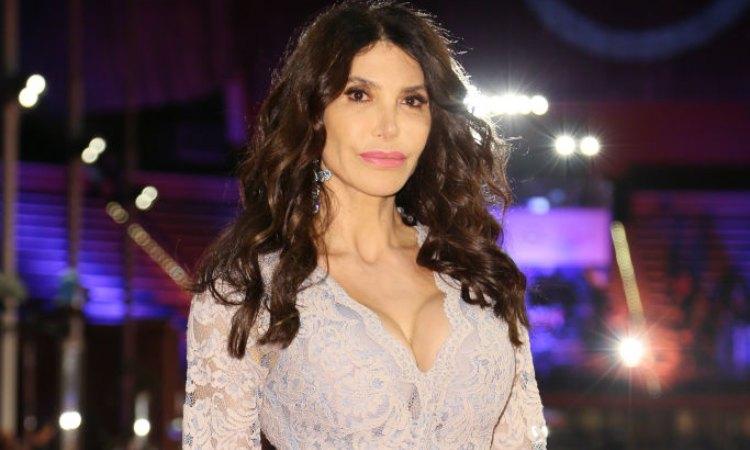 Carmen Di Pietro in posa al film festival di Roma
