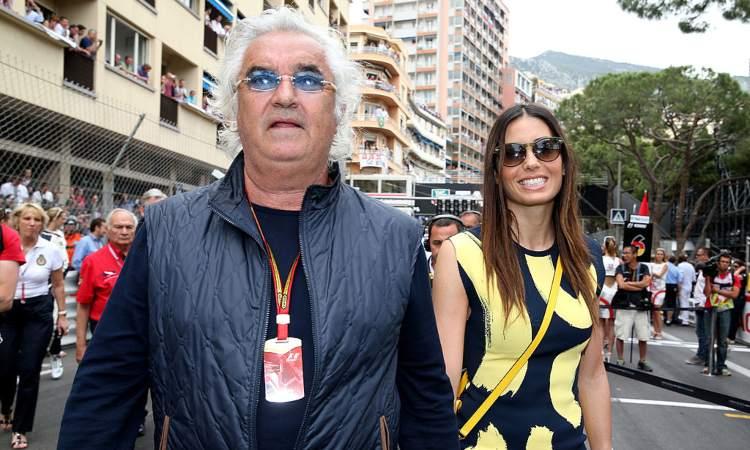 Gregoraci-Briatore presenti al Gp di Monaco