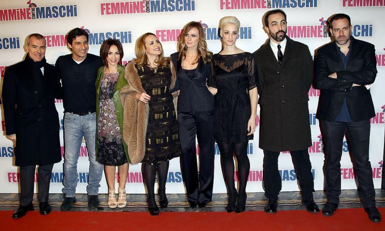 Il cast del film 'Maschi contro femmine'