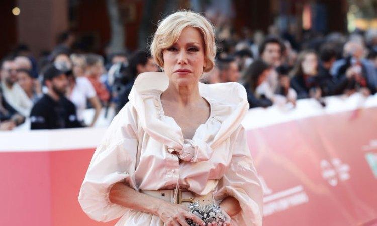 Nancy Brilli sul red carpet del 'Rome Film Fest'