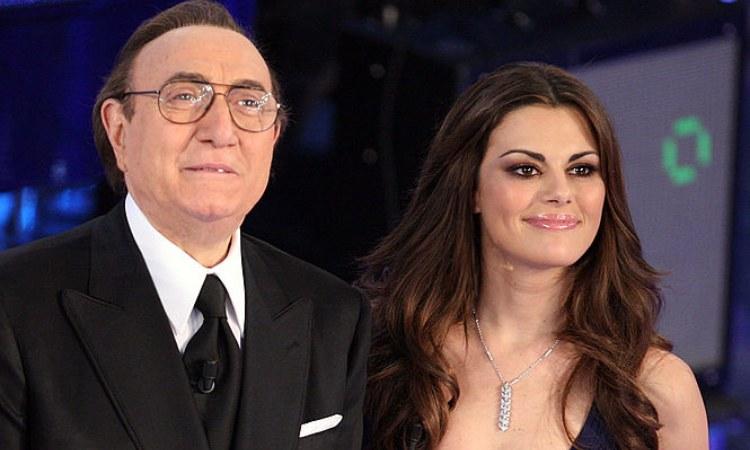 Pippo Baudo presente al 'Festival di Sanremo'