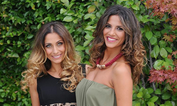 Veronica Gatto e Roberta Morise sorridenti
