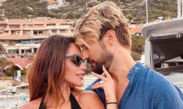 Alex Belli e sua moglie