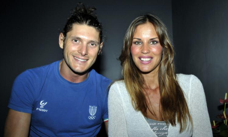 Antonella Mosetti e il fidanzato