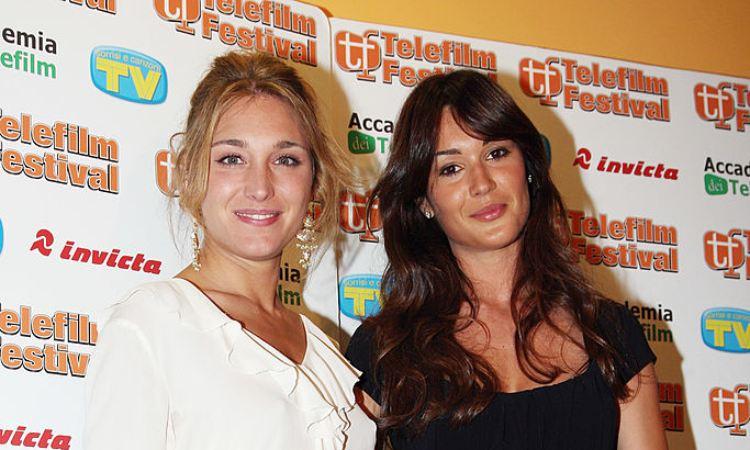 Silvia Toffanin e Lucilla Agosti sorridenti