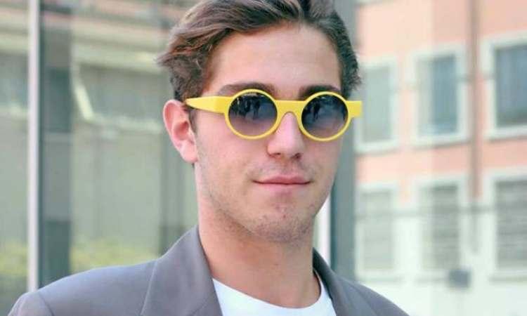 Tommaso occhiali gialli